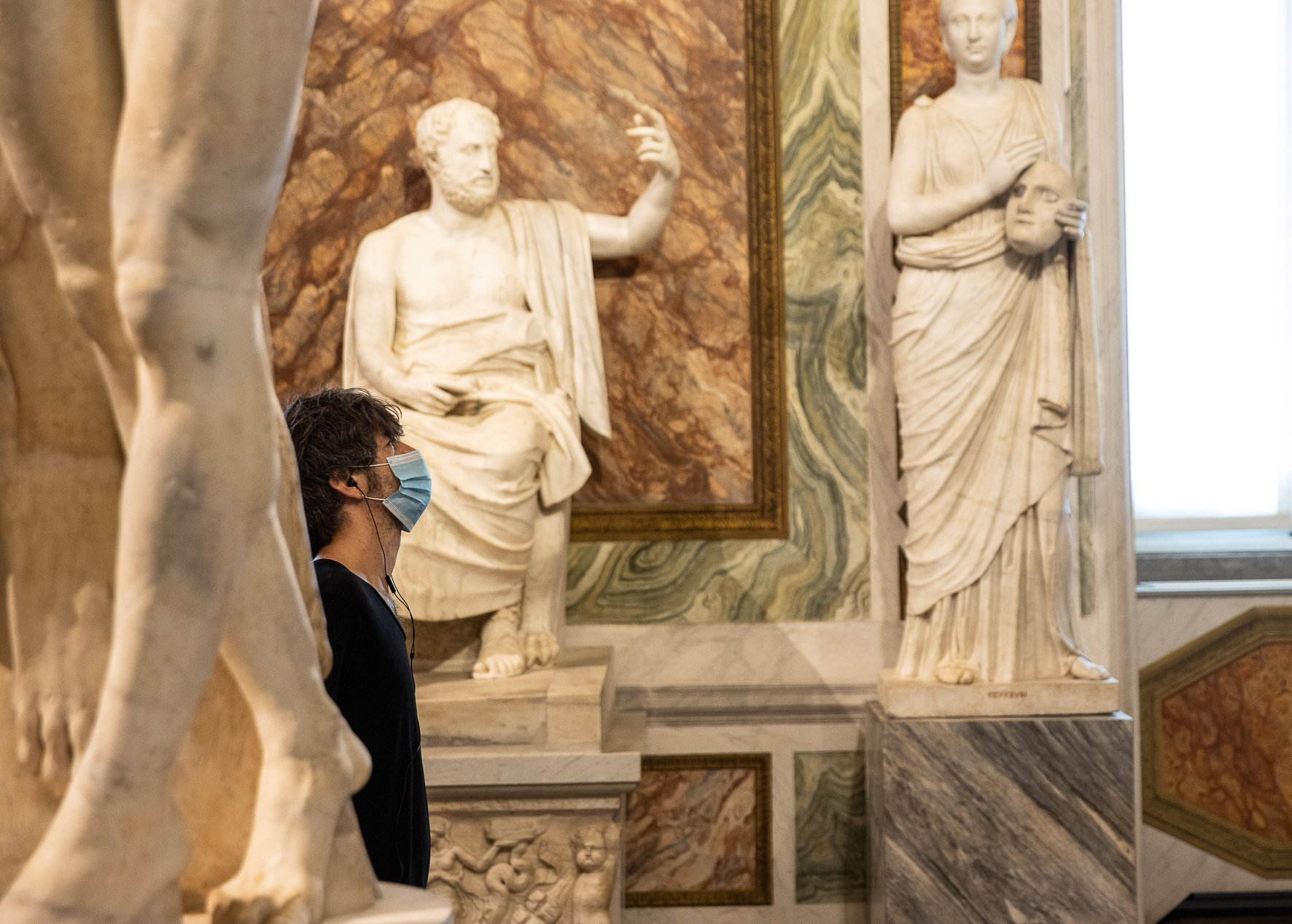 THE BORGHESE GALLERY IS REOPENING TO THE PUBLIC ON TUESDAY 19 MAY