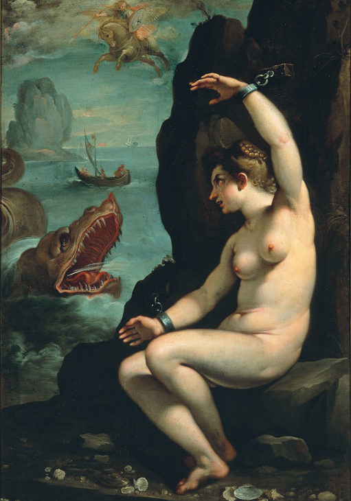 Andromeda Freed by Perseus