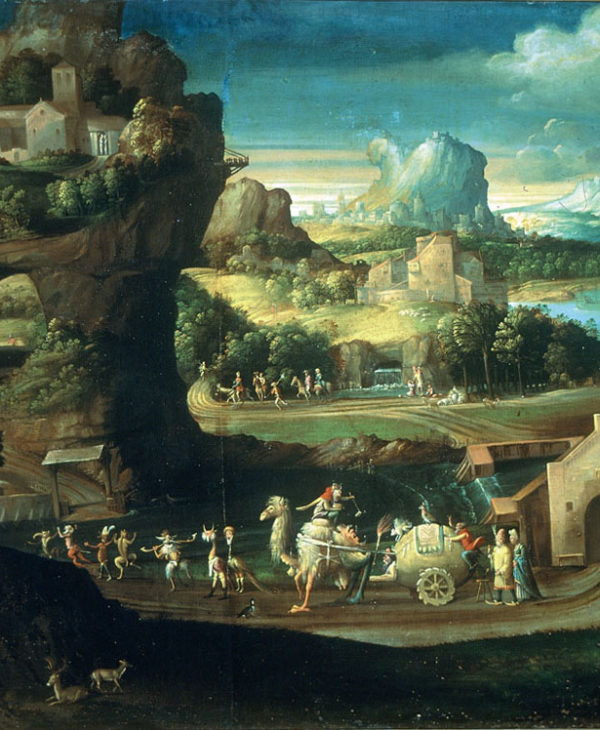 Landscape with Magical Procession