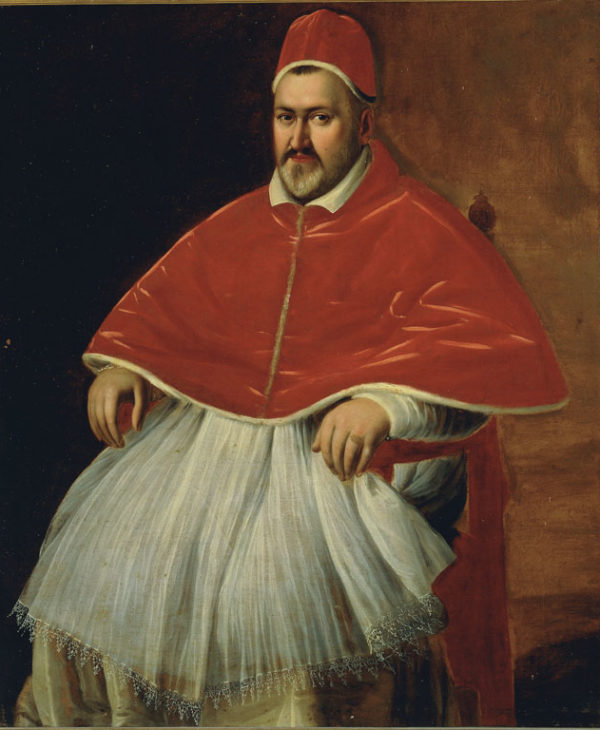 Portrait of Paul V Borghese
