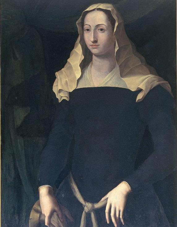 Portrait of Francesca Sforza di Santafiora