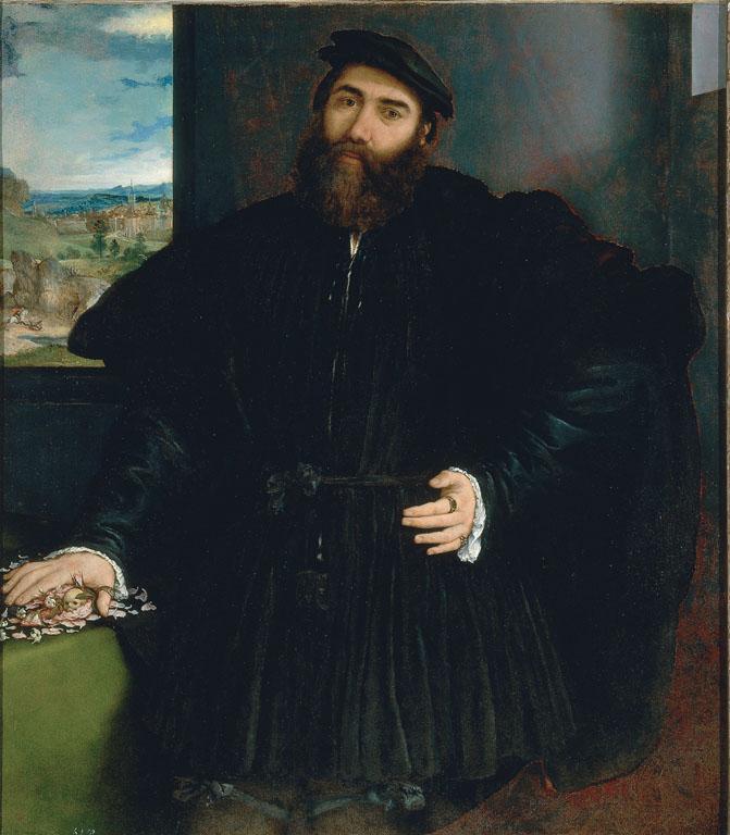 Portrait of a Man (Mercurio Bua)