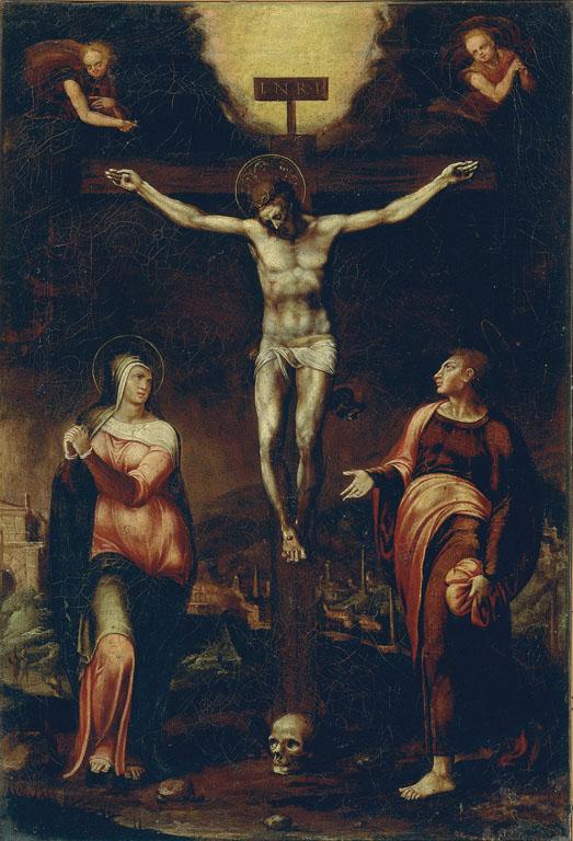 TheCrucifixion with theVirginandSaint John the Evangelist