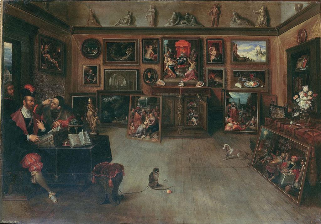 The Antique Dealer's Shop