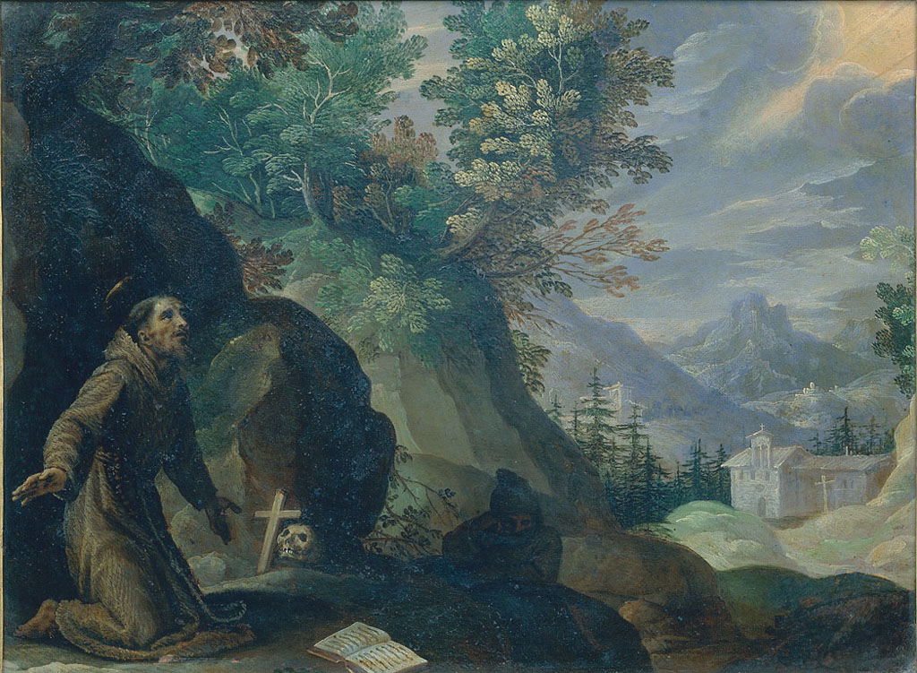 Landscape with Saint Francis of Assisi