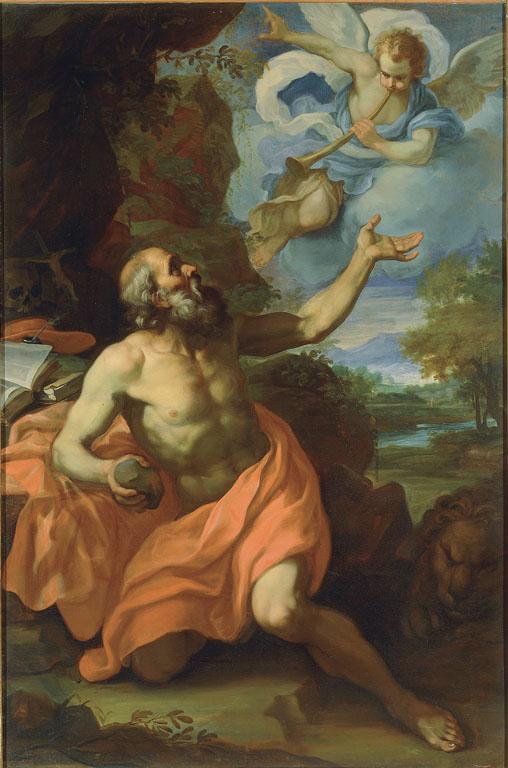 Saint Jeromeand theAngelof Judgement