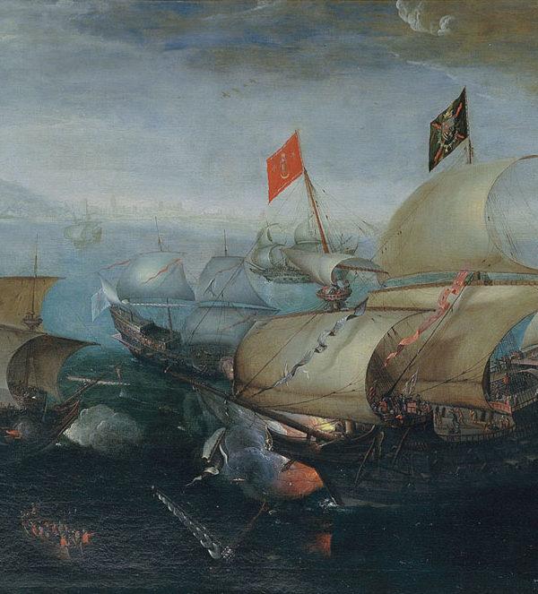 Naval battle against the Grande Armada