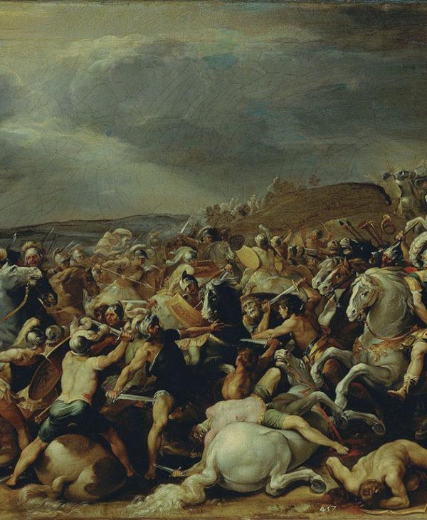 Battle of Tullio Ostilio against Veienti