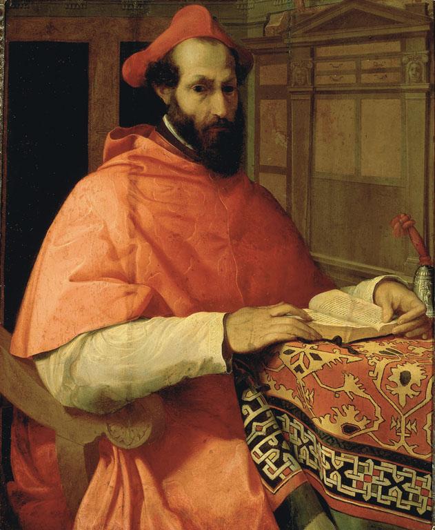 Portrait of Cardinal Marcello Cervini degli Spannocchi