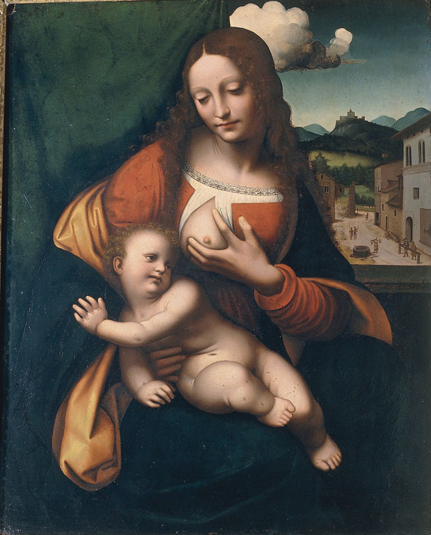The Madonna Suckling the Infant Christ