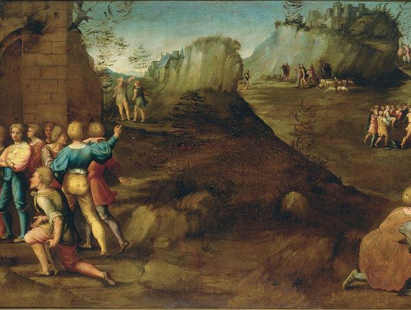 Life of Joseph: Jacob Receiving the News of the Presumed Death of Joseph