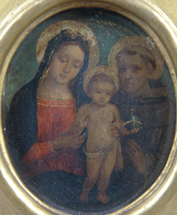 Virgin and Child with Saint Francis of Assisi