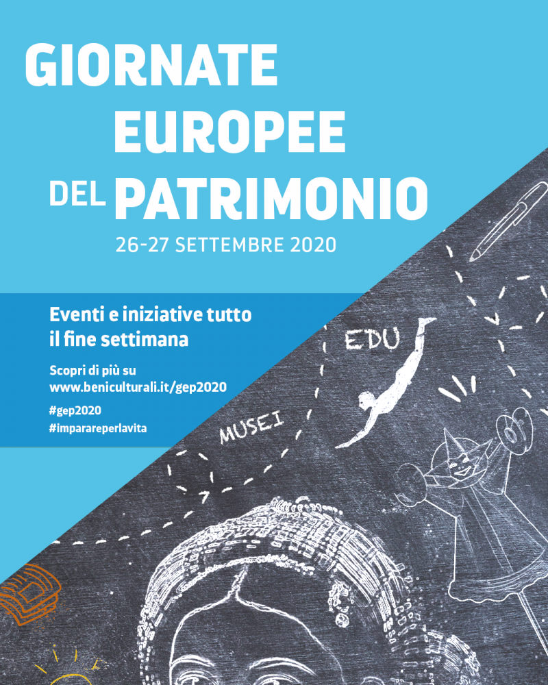 THE EUROPEAN HERITAGE DAYS ARE RETURNING ON THE 26TH AND 27TH OF SEPTEMBER