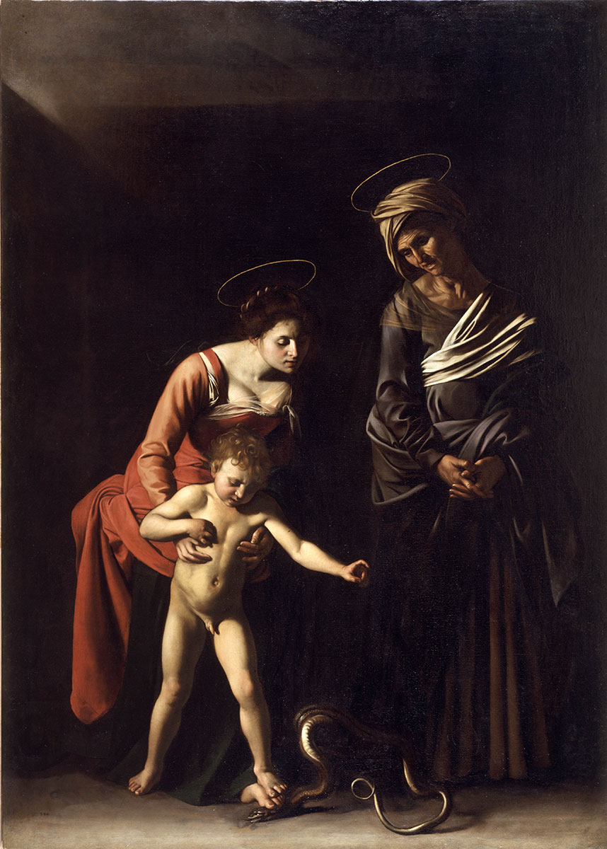 Madonna and Child with Saint Anne (Madonna dei Palafrenieri)