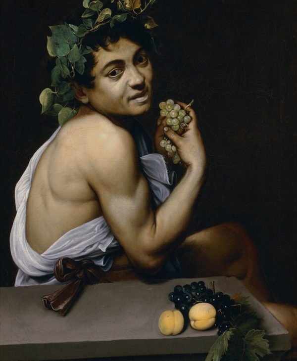 "Self-portrait as Bacchus (known as ""Sick Bacchus"")"