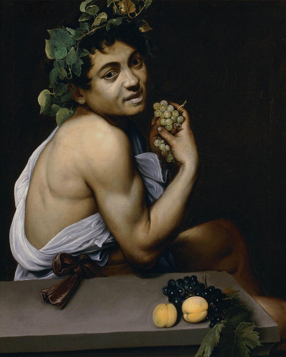 """Self-portrait as Bacchus (known as """"Sick Bacchus"""")"""