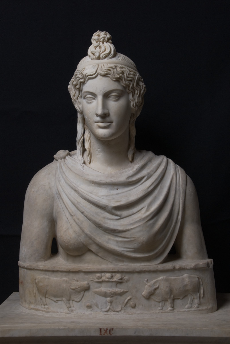 Bust of a Woman as Isis