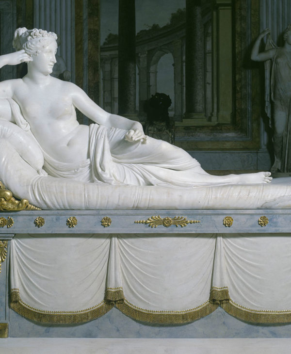 Paolina Borghese Bonaparte as Venus Victrix