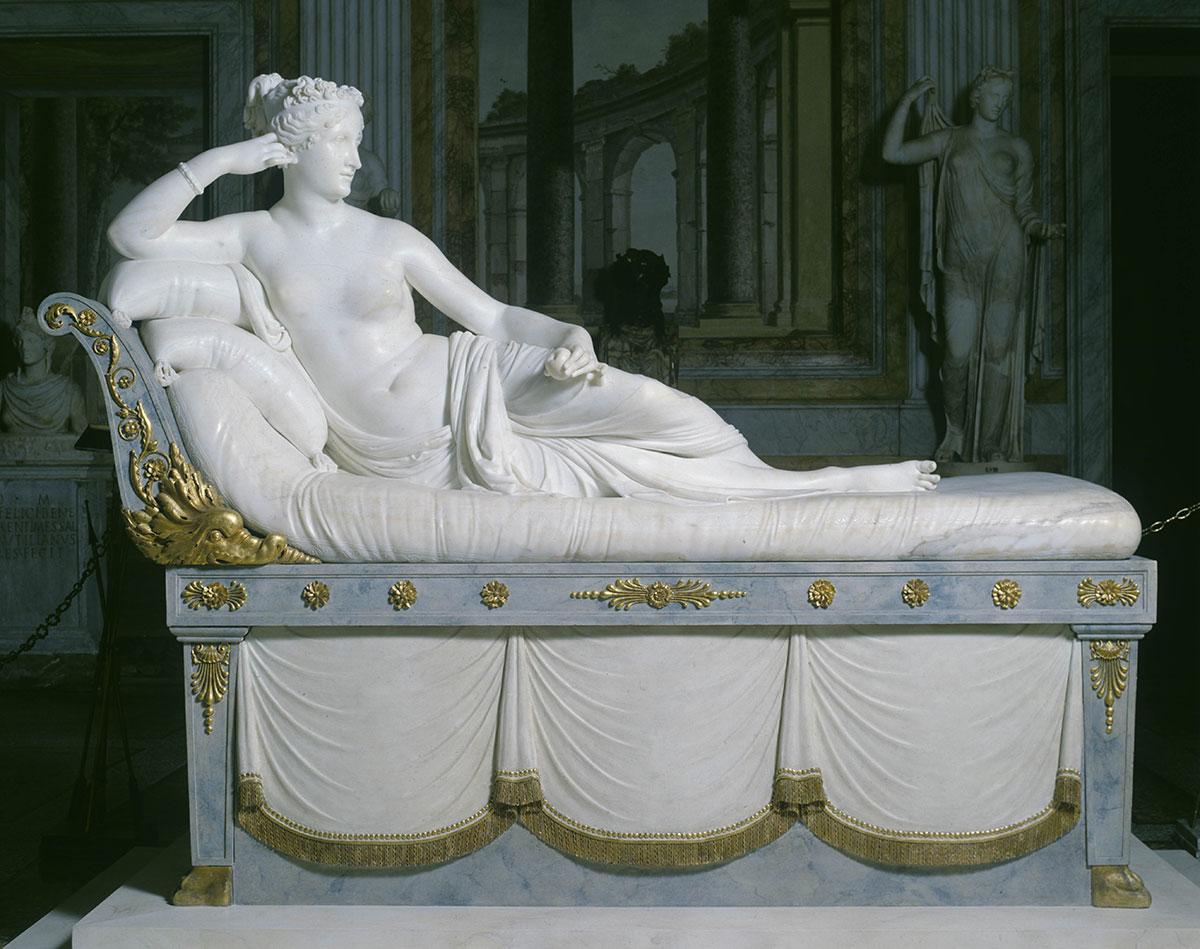 Paolina Borghese Bonaparte as Venus Victrix