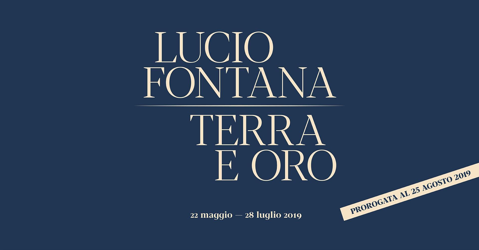 LUCIO FONTANA: EARTH AND GOLD