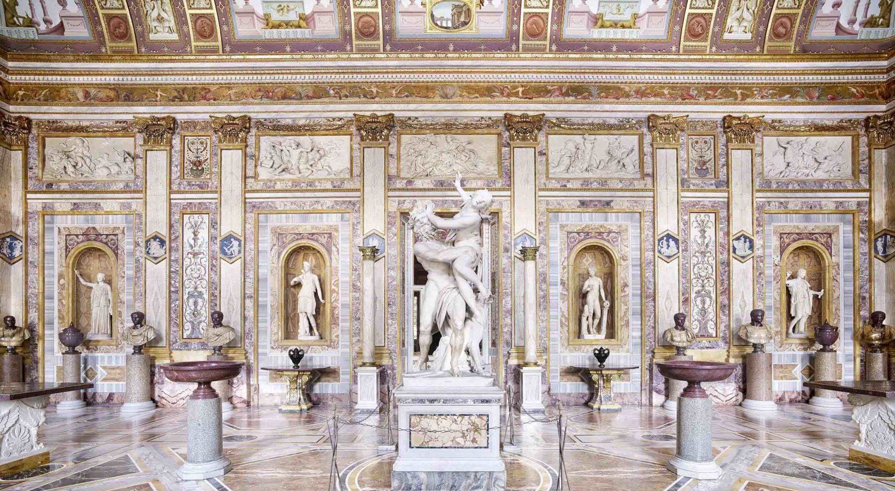 CANDIDA HÖFER for the GALLERIA BORGHESE