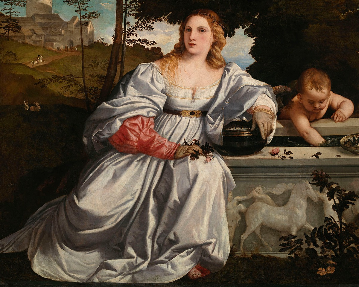 GALLERIA BORGHESE TELLS A MASTERPIECE: SACRED LOVE AND PROFANE LOVE OF TITIAN