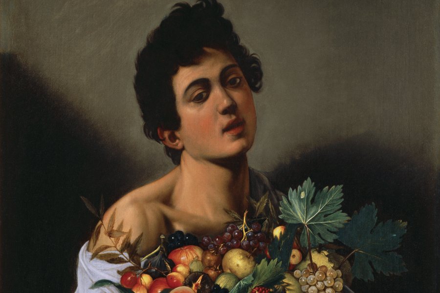 GALLERIA BORGHESE TELLS A MASTERPIECE: BOY WITH A BASKET OF FRUIT OF CARAVAGGIO