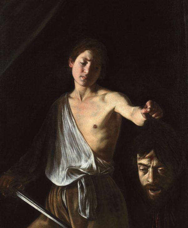 GALLERIA BORGHESE TELLS A MASTERPIECE: DAVID AND GOLIATH OF CARAVAGGIO