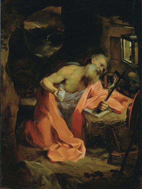 San Girolamo in preghiera