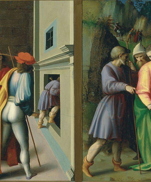 Storie di Giuseppe Ebreo: L'arresto dei fratelli