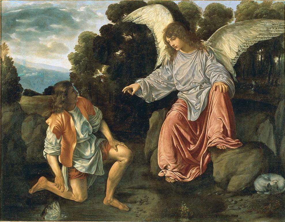 Tobiolo e l'angelo