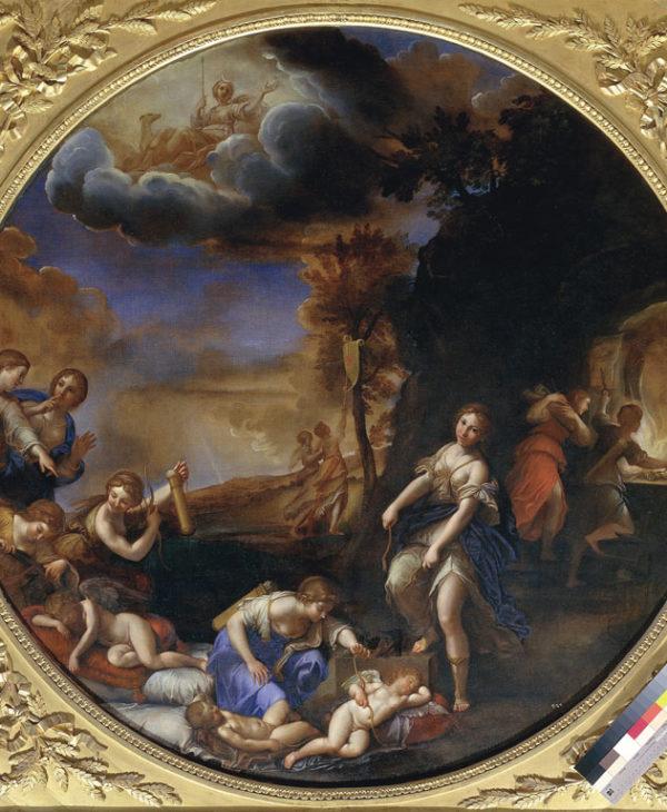 Il trionfo di Diana (L'Inverno)