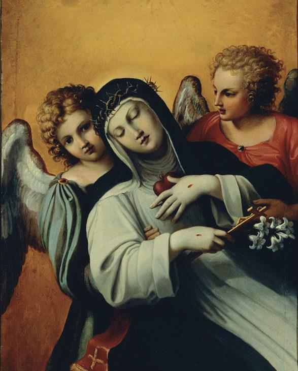 Estasi di santa Caterina da Siena