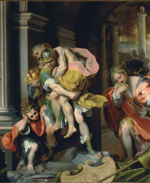 La fuga di Enea da Troia