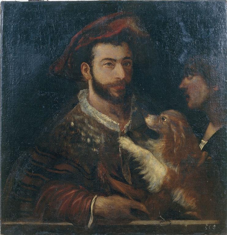 Due uomini e un cane