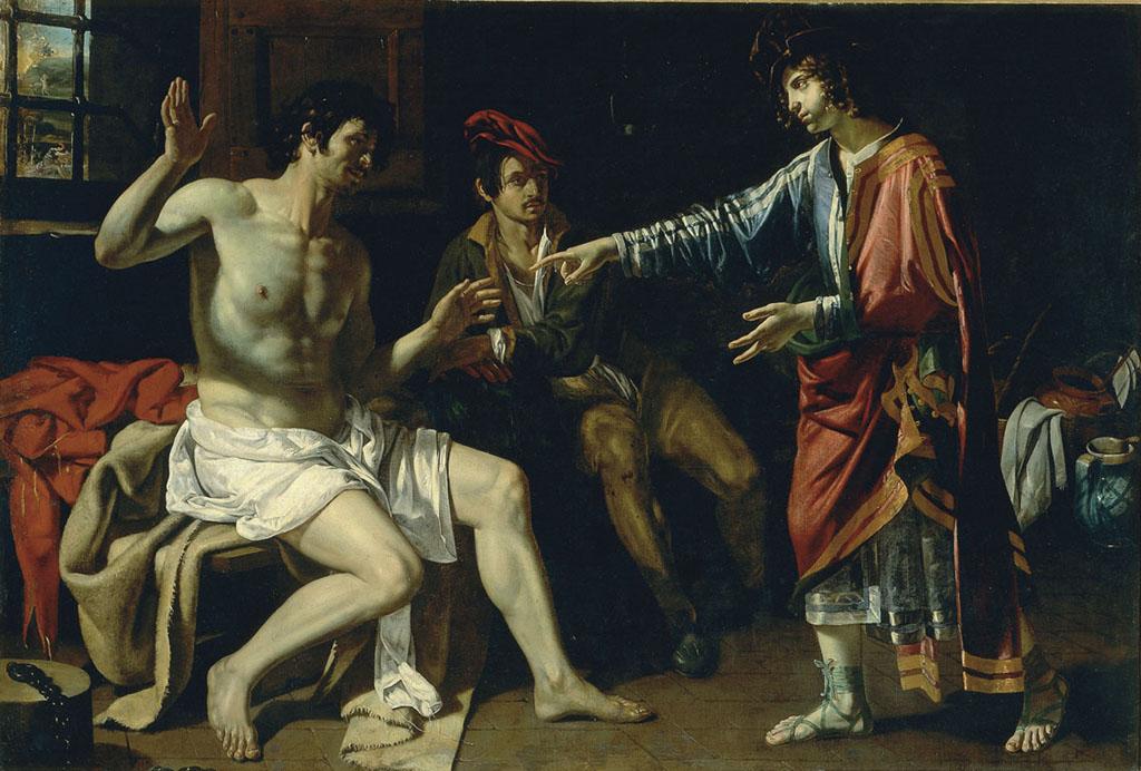 Giuseppe spiega i sogni ai prigionieri