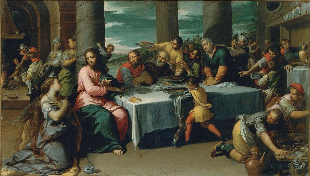 Cena in casa di Simone