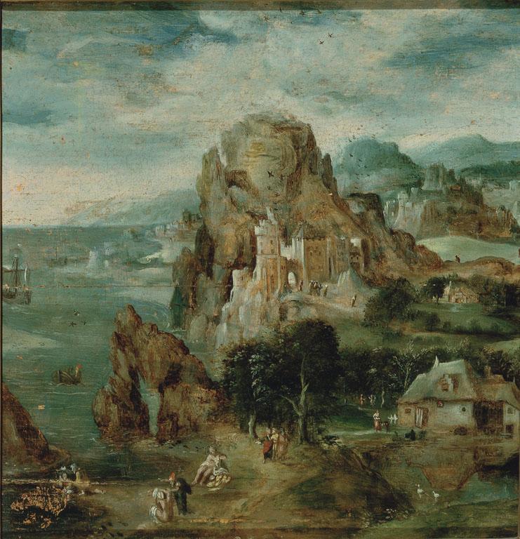 Paesaggio con il Battesimo di Cristo