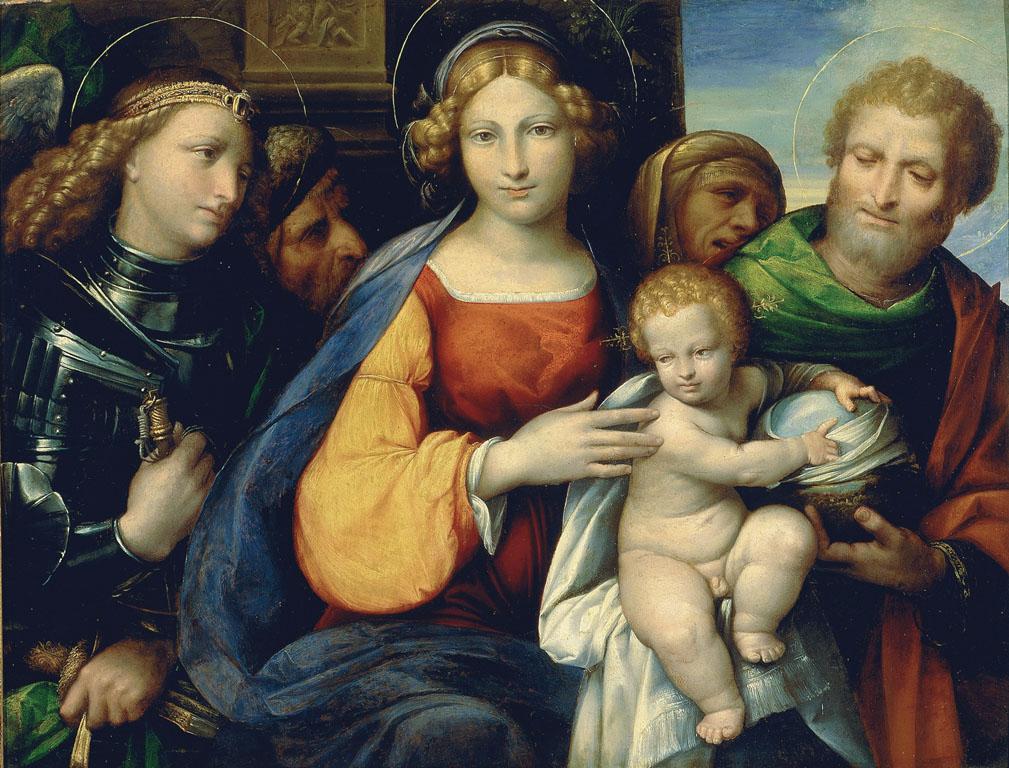 Madonna con Bambino e i santi Michele, Giuseppe, Gioacchino e Anna