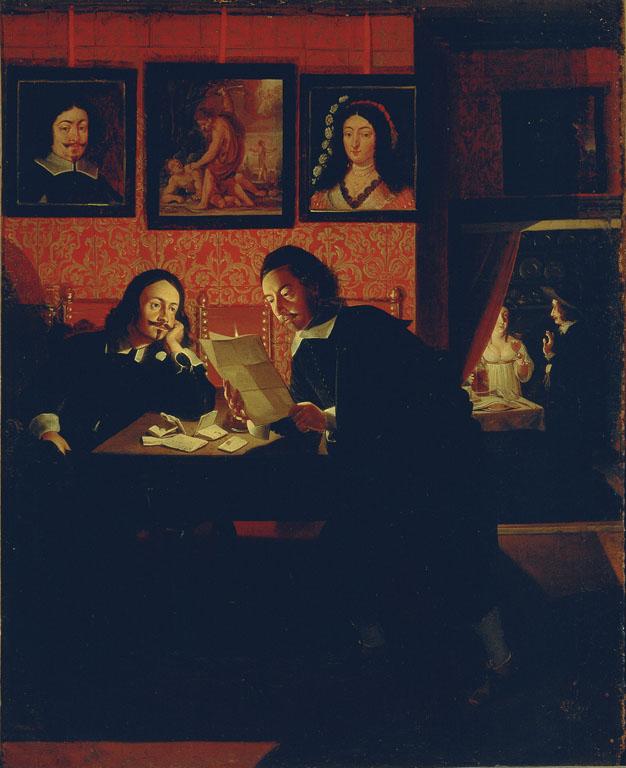 Due uomini nello studio