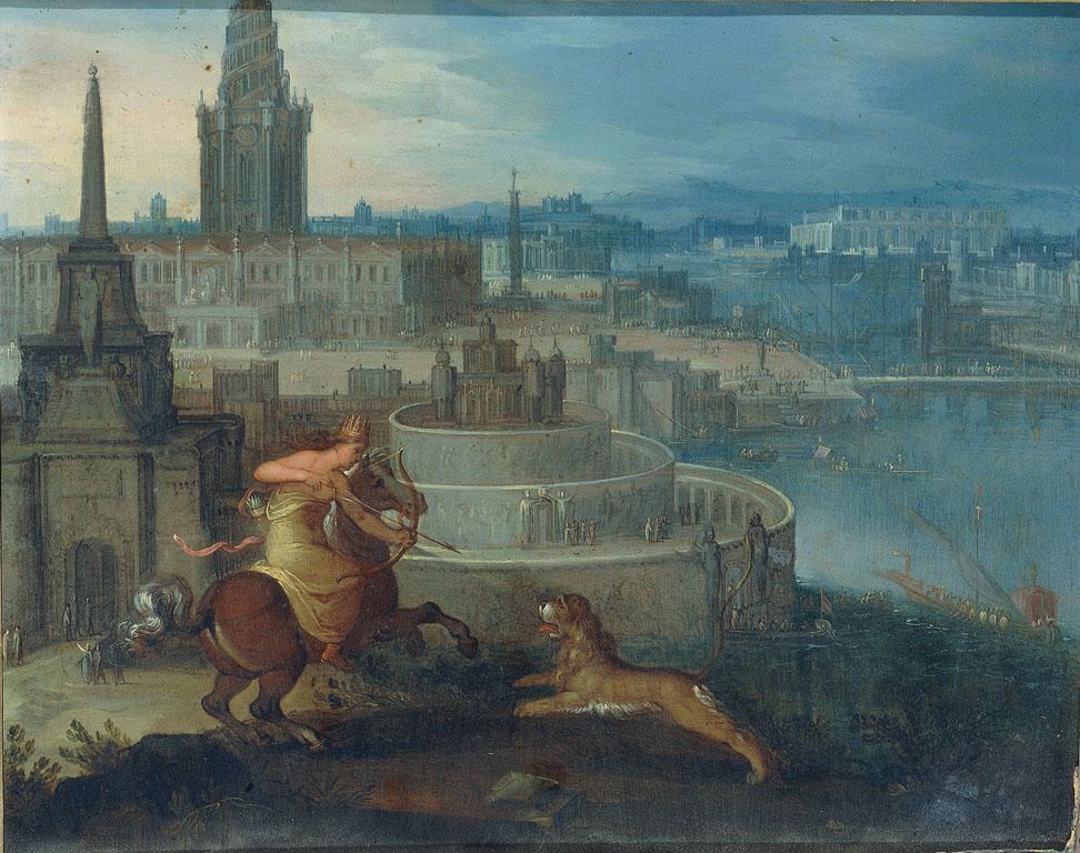 Semiramide davanti alle mura di Babilonia