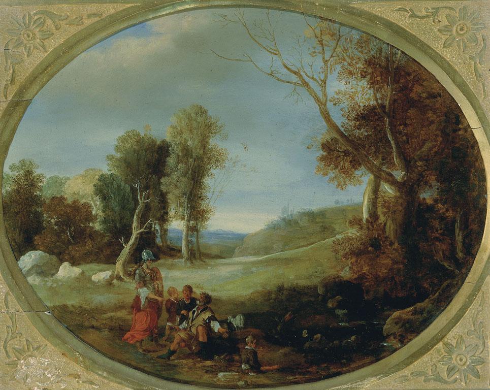Paesaggio con Erminia fra i pastori
