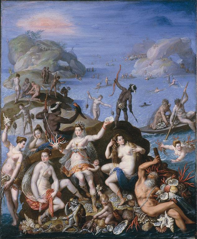 La pesca del corallo (o Il regno di Anfitrite)