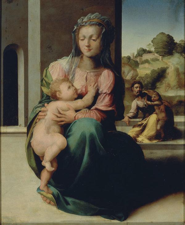 Madonna con Bambino, san Giuseppe e san Giovannino
