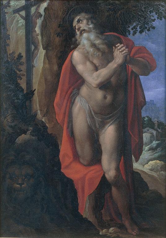 San Girolamo davanti al crocifisso