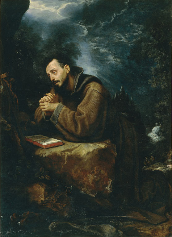 San Francesco d'Assisi orante