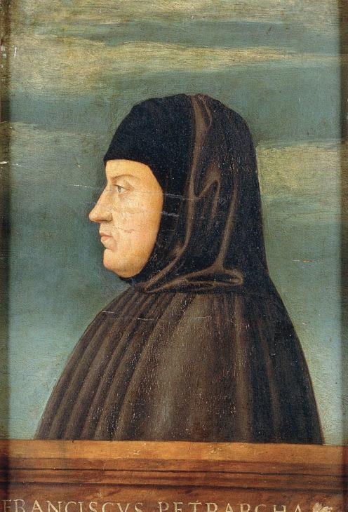 Ritratto del Petrarca