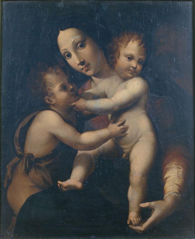 Madonna con Bambino e S. Giovannino