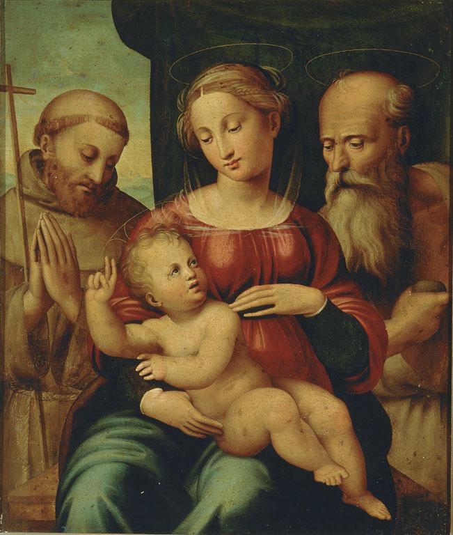 Madonna con Bambino e i santi Francesco e Girolamo