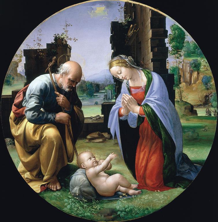Adorazione del Bambino